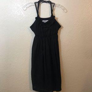 Kensie Pretty Black Dress SZ L